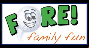Fore! Family Fun logo