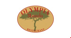 """Product image for Olympia Masala Restaurant $5 OFF 2 16"""" extra large pizzas with 1 topping each"""