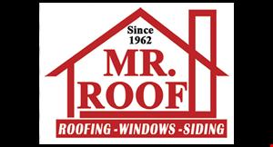 Mr. Roof logo