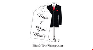 Product image for New 2 You Fine Consignment $10 off any purchase of $75 or more.