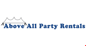 Above It All Party Rentals logo