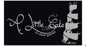 A Little Cake logo