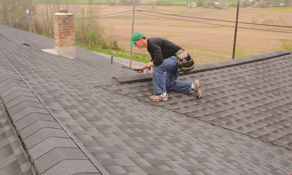 Product image for Tennis Roofing & Asphalt, Inc. $500 off any job of $10,000 or more