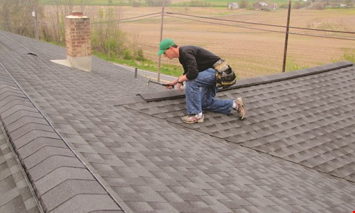 Product image for Tennis Roofing & Asphalt, Inc. $500 off any job of $10,000 or more.