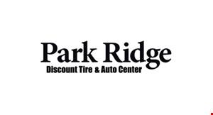 Park Ridge Discount Tire & Auto Center logo