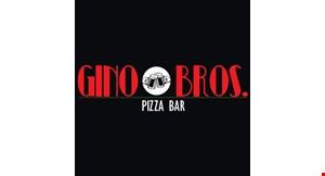 Gino Bros. Pizza Bar logo