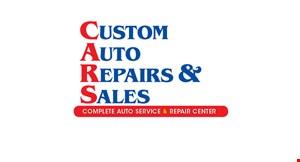Custom Auto Repairs & Sales logo