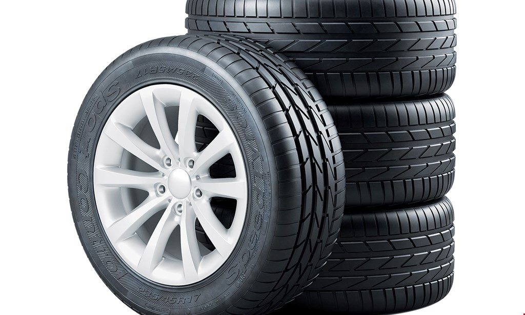 Product image for Hurst's Tire Service $20 OFF wheel alignment with the purchase of any 4 tires.