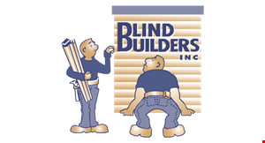 Product image for Blind Builders Inc 10% Off Purchase over $500