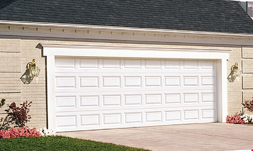 Product image for Garage Door Specialists $899 16' x 7' Steel Raised Panel Garage Door