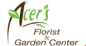 Product image for Acer's Florist & Garden Center 20% OFF ANY ONE ITEM.