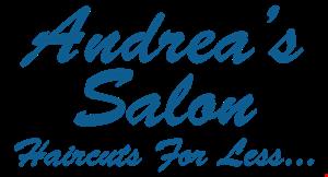 ANDREA'S SALON logo