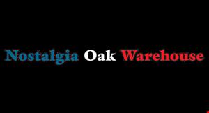 Nostalgia Oak Warehouse logo