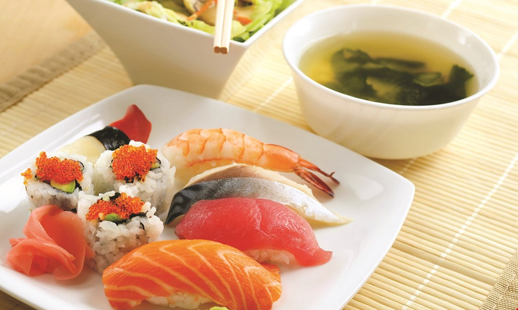Product image for Yama Sushi $10 off entire check of $60 or more before tax - no split checks excludes alcohol.