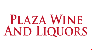 Product image for Plaza Wine and Liquors $1 Off Any Wine Purchase Of $10 Or More.