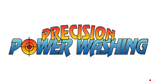 Product image for Precision Power Washing $500 off projects over $5,000, $1,000 off projects over $10,000
