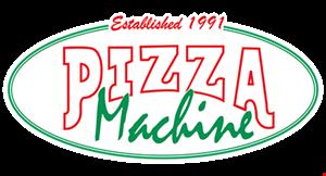 Pizza Machine logo