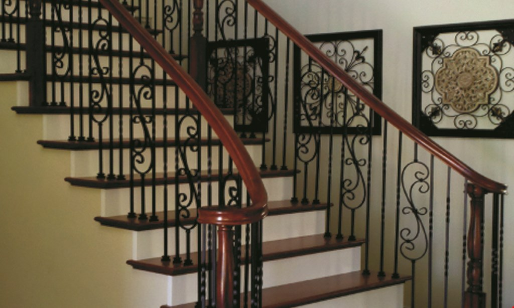 Product image for K. Pinson Stairs Replace up to 50 balusters $1695 Iron or free!