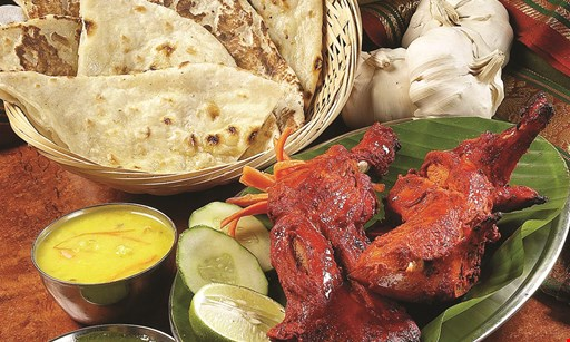 Product image for Village Tandoor $6.95 lunch buffet buy 1 lunch buffet & 2 drinks, get second buffet for $6.95(dine in only - Mon.-Sat. only)