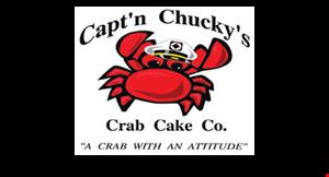 Capt'n Chucky's Crab Cake Company logo