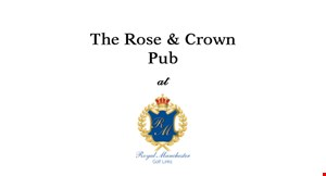 The Rose & Crown Pub at Manchester Golf Links logo
