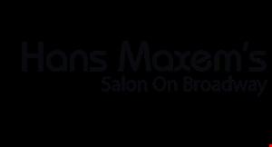 Hans Maxem's Salon on Broadway logo