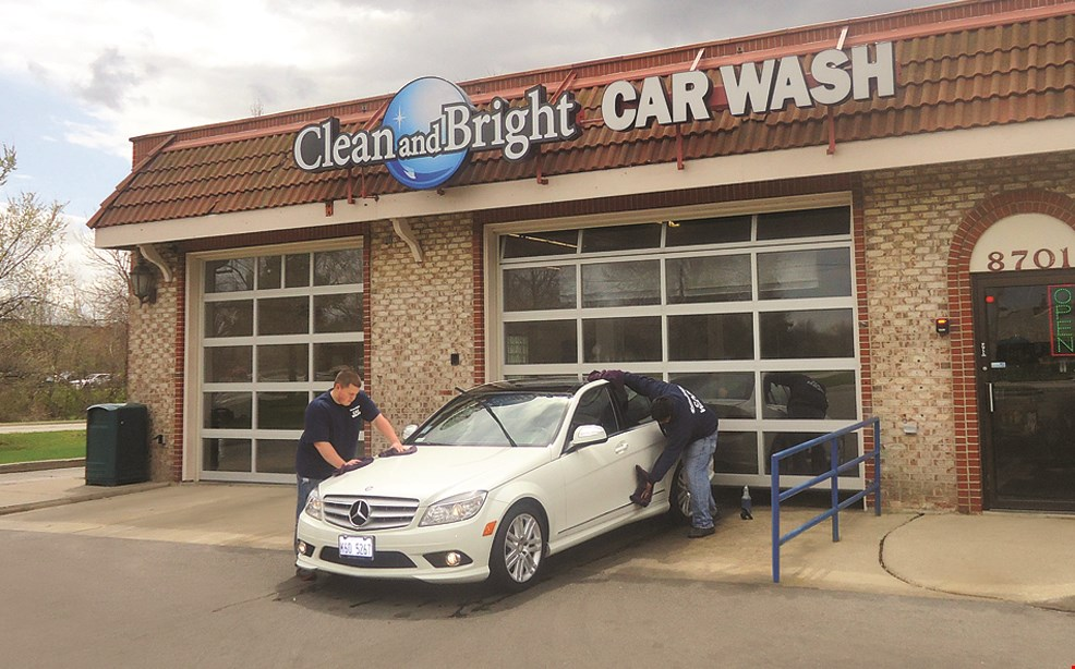 Product image for Clean and Bright Car Wash $2 off Any full-service car wash