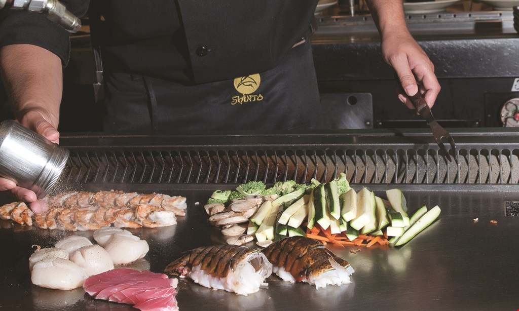Product image for Shinto Japanese Steakhouse & Sushi Bar $10 OFF any purchase of $50 or more.