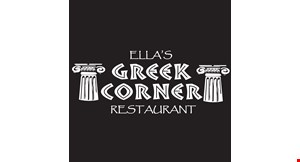 Ella's Greek Corner Restaurant logo