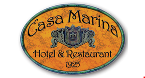Product image for Casa Marina Hotel $15 for $30 worth of Oceanfront dining in the Penthouse Lounge.  Not Valid for Sunday Brunch