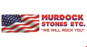 Product image for Murdock Stones Etc. $10 Off Delivery
