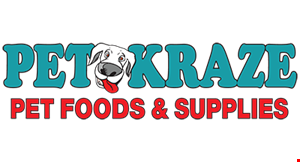Product image for Pet Kraze Pet Foods & Supplies $5 off any purchase