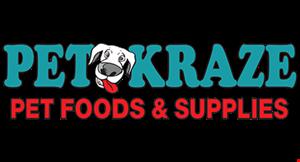 Pet Kraze Pet Foods & Supplies logo