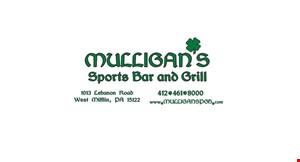 Mulligan's Sports Bar & Grill logo