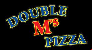 Double M's Pizza logo