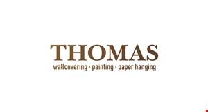 Thomas Wallcovering Painting & Paper Hanging logo