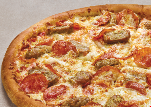 Product image for Papa Johns Pizza $27.99 Plus Tax Receive Two Large 2-Topping Pizzas, a Family Size Dessert plus a 2L Pepsi Product