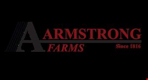 ARMSTRONG FARMS BEEF logo