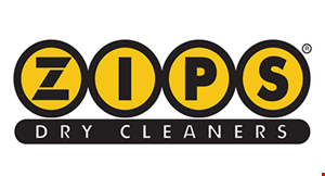 Zips Dry Cleaners logo
