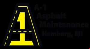 A-1 Asphalt Maintenance logo