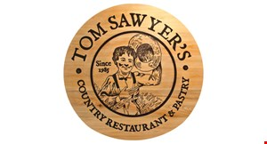 Product image for Tom Sawyer's Restaurant 50% off breakfast
