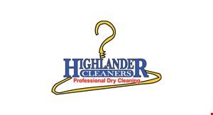Highlander Cleaners logo