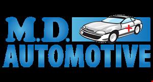 M.D. Automotive logo