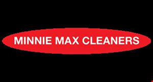MINNIE MAX CLEANERS logo