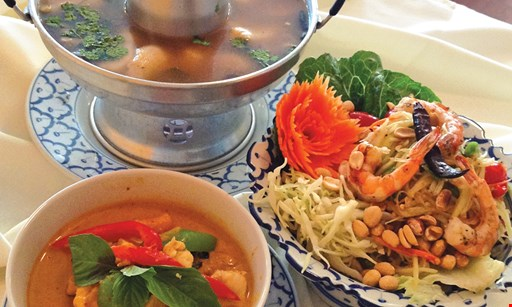 Product image for Divine Thai Cuisine FREE appetizer with purchase of $30 or more.