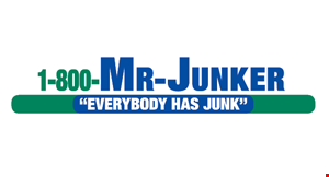 Product image for 1-800 Mr. Junker $20 OFF Any Job Of $250 Or More book online & save another $10!
