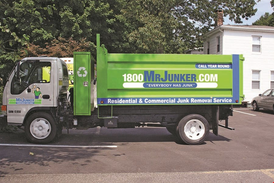 Product image for 1-800 Mr. Junker FREE Junk Car Removal includes any type of trucks or motorcycles anywhere in US • restrictions may apply.