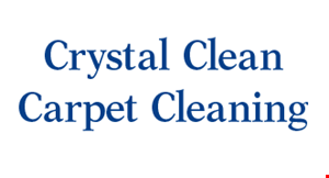 CRYSTAL CLEAN CARPET CLEANERS logo