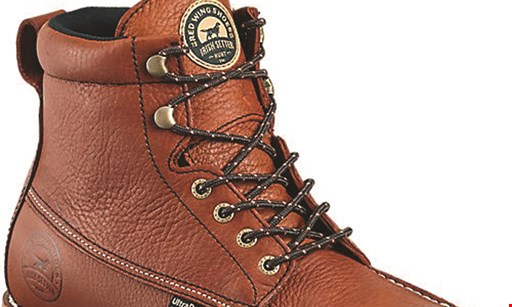 Product image for Red Wing Shoes $20 Off on any regularly priced, in-stock Red Wing Boots.
