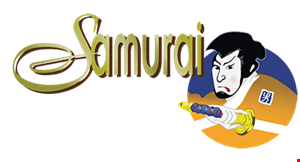 Product image for SAMURAI $5 off any purchase of $25 or more OR $10 off any purchase of $50 or more.